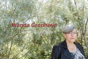 Wanda Gronhovd's WordPress website by Luminous Moon, Penticton BC