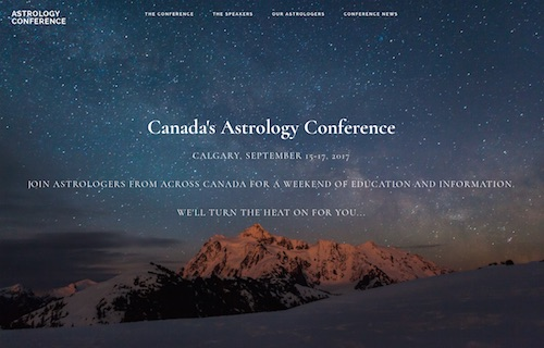 Astrology Conference Website